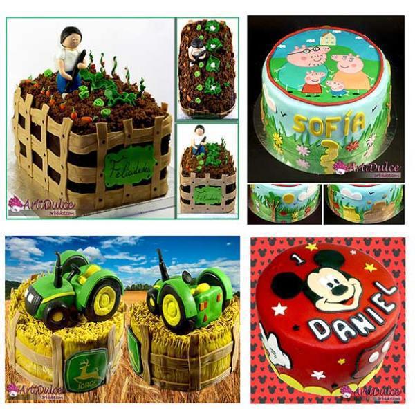 Collage diferentes tartas2