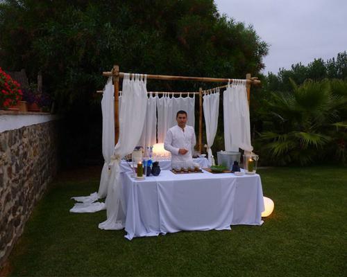 Espacio para bodas con cocina propia