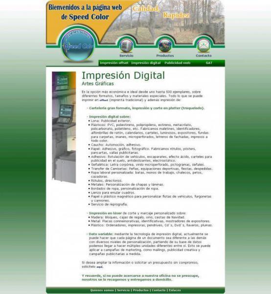 Speedcolorsl Servicios Publicitarios Imprenta Digital