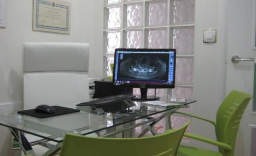 Despacho y sala de diagnóstico