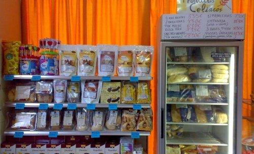 varias marcas productos celiaquia