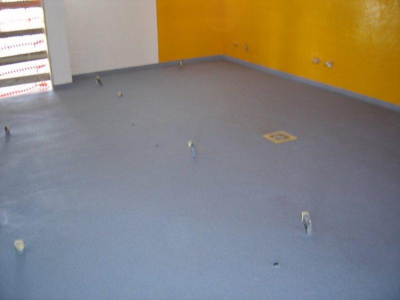Pavimentos de resinas