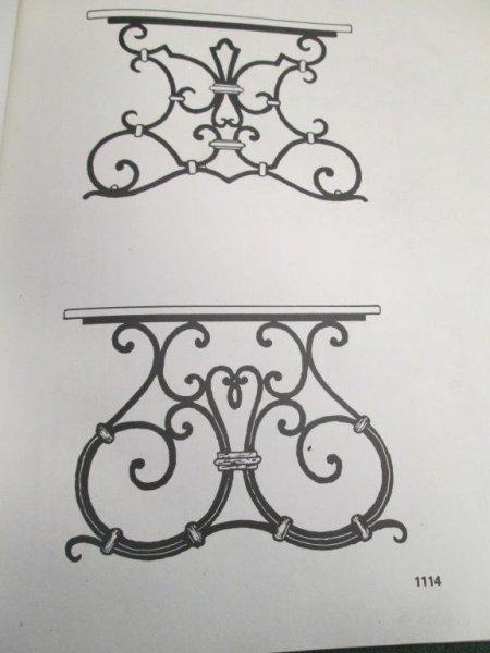 mesas de hierro artesania en fragua segun medidas