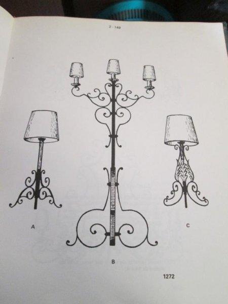 lamparas de hierro artesania en fragua