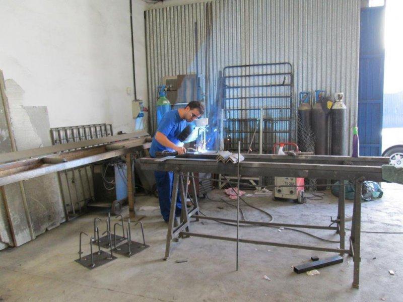 mesa de soldadura para hierro