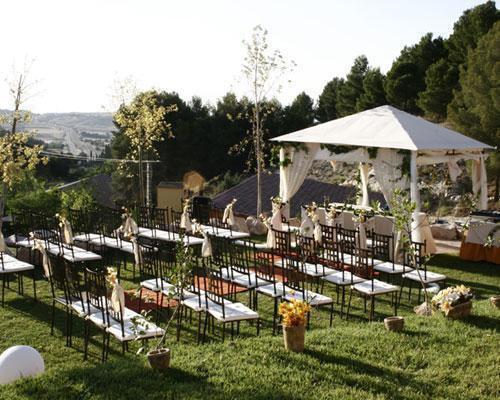 Posibilidad de celebrar la ceremonia civil al aire libre