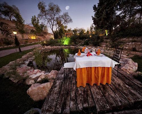 Espectaculares rincones para cenas al aire libre