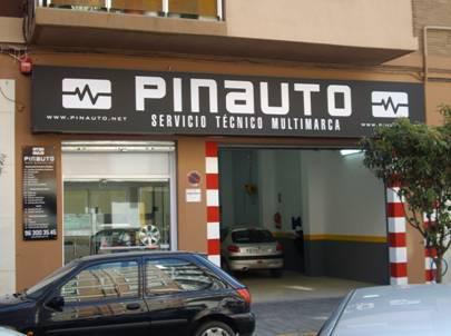 Pinauto, taller mecánico en Valencia