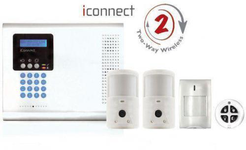 Alarma con fotodetectores y comunicacion gsm/gprs