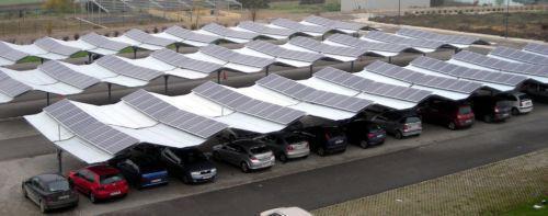 Parkings solares fotovoltaicos