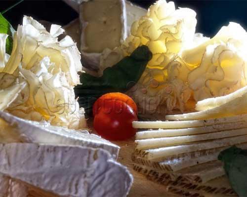 Plato de quesos variados