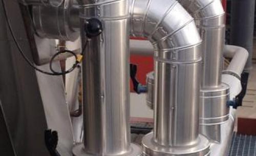 Calorifugado de tuberías refrigeración