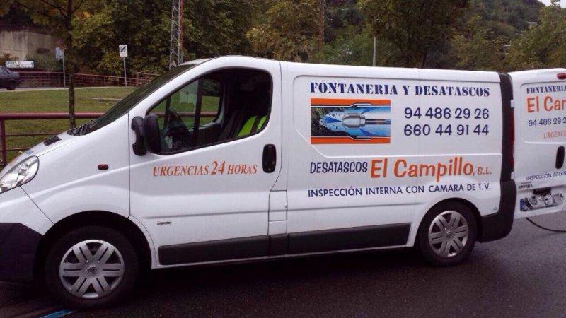 El Campillo, fontanería y desatascos en Bizkaia