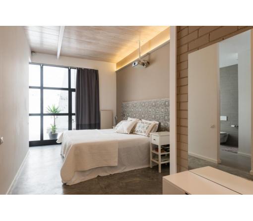 Dormitorio principal - Reforma Loft Standal