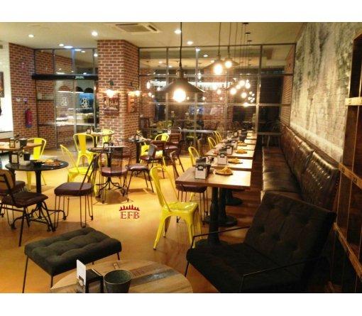 Proyecto de adecuación para cafetería. ROMA Bakery Café (León)