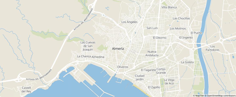 Guía de servicios locales de Almeria | Servicios 20minutos
